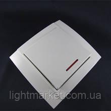Выключатель Аватар 1-й с подсветкой (внкутренний)
