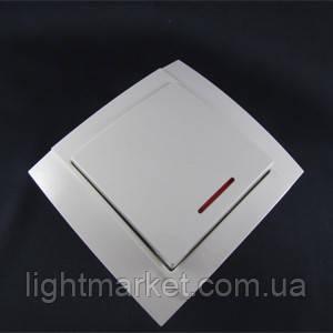 Выключатель Аватар 1-й с подсветкой (внкутренний), фото 2