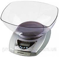 Распаковка и обзор кухонных весов электронных First FA-6402