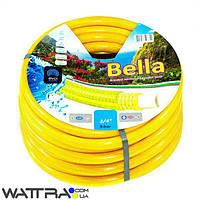 """Шланг """"Белла"""" EVCI PLASTIK диаметр 3/4, длина 50м, армированный, вес 7 кг (Bella) поливочный"""