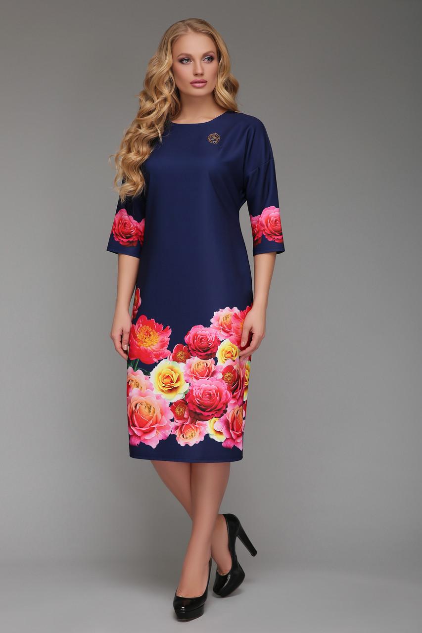 Платье женское Лилия розы