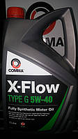 Моторное масло Comma X-Flow Type G 5w40