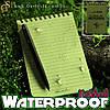 "Водонепроницаемый блокнот - ""Waterproof Notebook"""