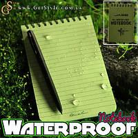 """Водонепроницаемый блокнот - """"Waterproof Notebook"""", фото 1"""