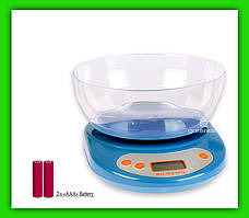 Весы кухонные Wimpex Wx02 с чашей 2 х ААА