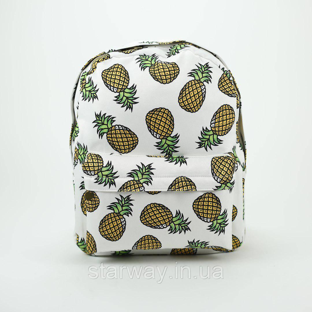 Рюкзак стильный Wacse pineapple logo