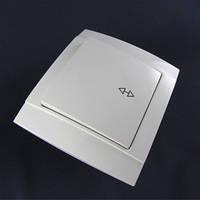 Выключатель одноклавишный проходной внутренний