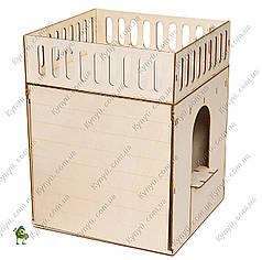 Пристройка конструктор для кукольного домика