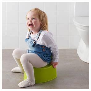 ЛИЛЛА Горшок детский, зеленый 30193163 IKEA, ИКЕА, LILLA, фото 2