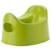 ЛИЛЛА Горшок детский, зеленый 30193163 IKEA, ИКЕА, LILLA