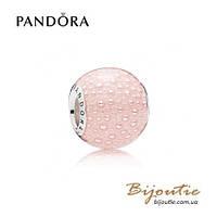 Pandora Шарм РОЗОВОЕ ОЧАРОВАНИЕ #797091EN160 серебро 925 Пандора оригинал