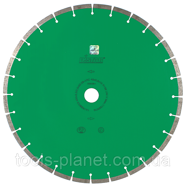 Алмазный диск Distar 1A1RSS/C3-B 500 x 3,8 x 10 x 32 UNIVERSAL (13327089031)