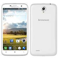 """Смартфон Lenovo A850 білий 5,5""""екр, 4-яд 1 gb-4gb"""