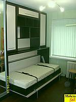 Стенка с встроенной горизонтальной кроватью, фото 1