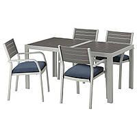 SJÄLLAND Стол+4 стула с podłok., на зов.