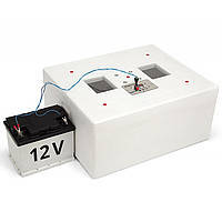 Инкубатор Несушка-М ИБ-76 автомат на 76 яиц, ТЭН, вентилятор + выход на 12В, фото 2
