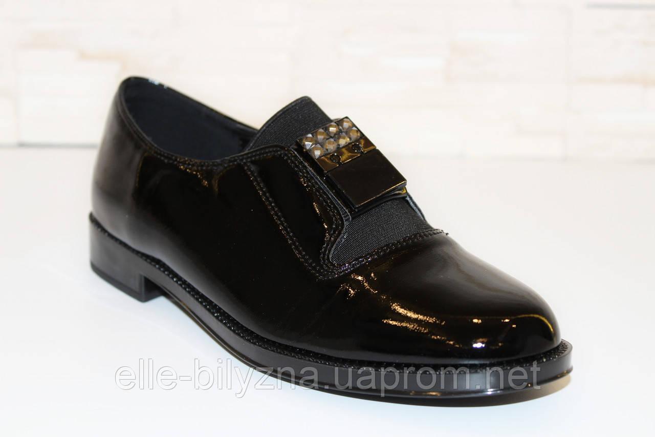 Туфли женские черные Т804