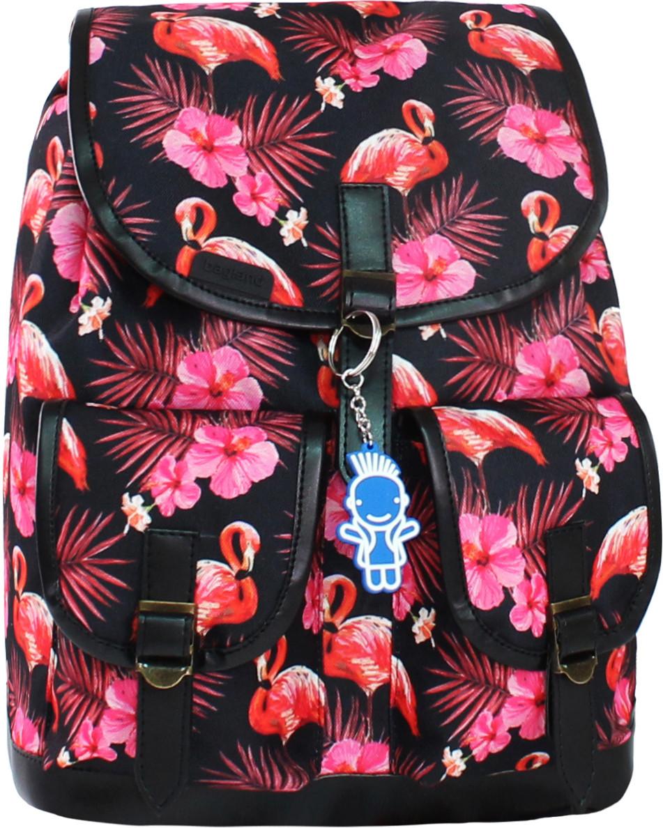 Рюкзак женский Bagland Amy с кож.вставками.