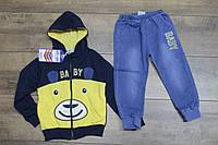 Костюм с джинсовыми штанами. 4- 5 лет.