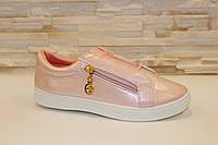 Слипоны женские розовые Т827, фото 1