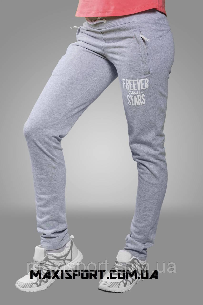 Брюки спортивные женские Freever (5902) св. серый