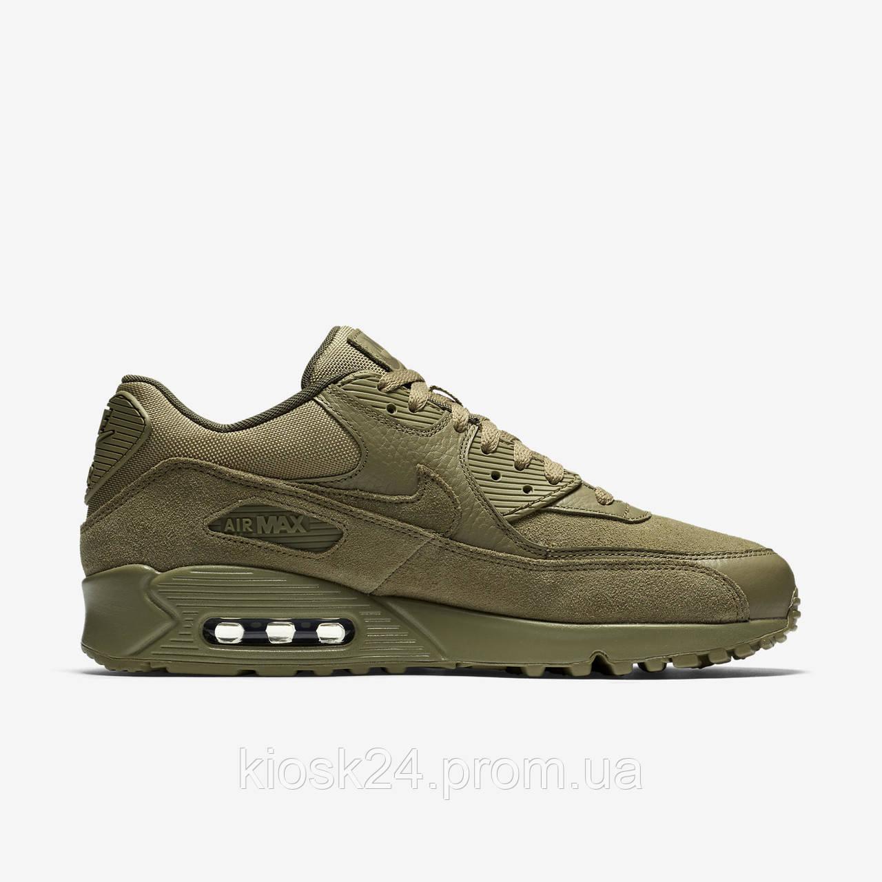 81f522622 Оригинальные кроссовки Nike Air Max 90 Premium Neutral Olive (700155 202) -  Sneakersbox -
