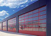 Промышленные ворота Alutech с калиткой 4250х3085 мм, фото 1