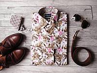 Стильная мужская рубашка Cavallaro Napoli, Италия (L/XL)