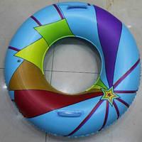 Круг для плавания Tilly BT-IG-0043, с ручкой, 90 см