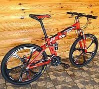 Складной велосипед на литых дисках Land Rover M-02