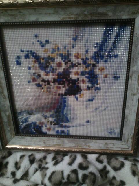 Алмазная мозаика стразами Готовые работы -1