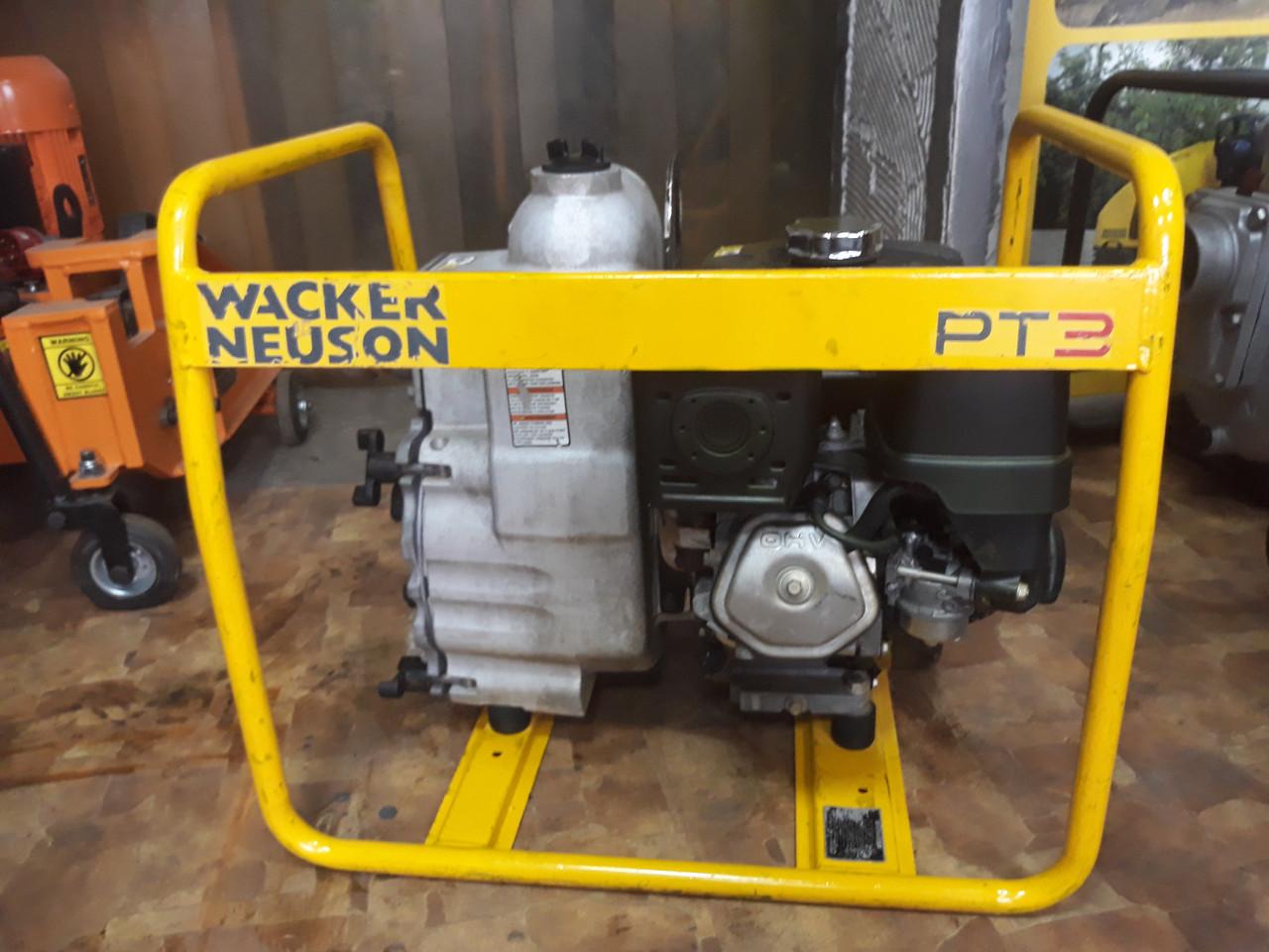 Мотопомпа WACKER PT3A