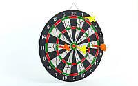 Мишень для игры в дартс из флока Flocked 12in Baili BL-12115