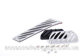 Комплект алюминиевых накладок педали BMW Новый Оригинальный