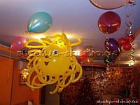 Украшение воздушными шариками дня рождения, юбилея