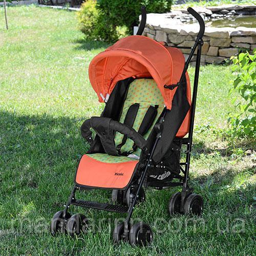 Прогулочная детская коляска-трость El Camino 3419-7 PICNIC