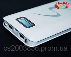 Внешний аккумулятор Power Bank UKC 30000 mAh с дисплеем 2 USB