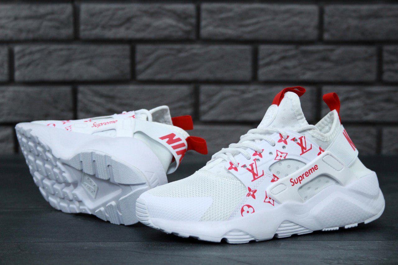 5dd81a5d Кроссовки Nike Huarache White Supreme Louis Vuitton, цена 1 275 грн., купить  в Киеве — Prom.ua (ID#271829852)