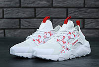 Кроссовки Nike Huarache White Supreme Louis Vuitton, фото 1