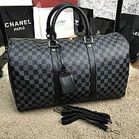 Сумка Softsided Luggage Louis Vuitton Keepall Damier Graphite