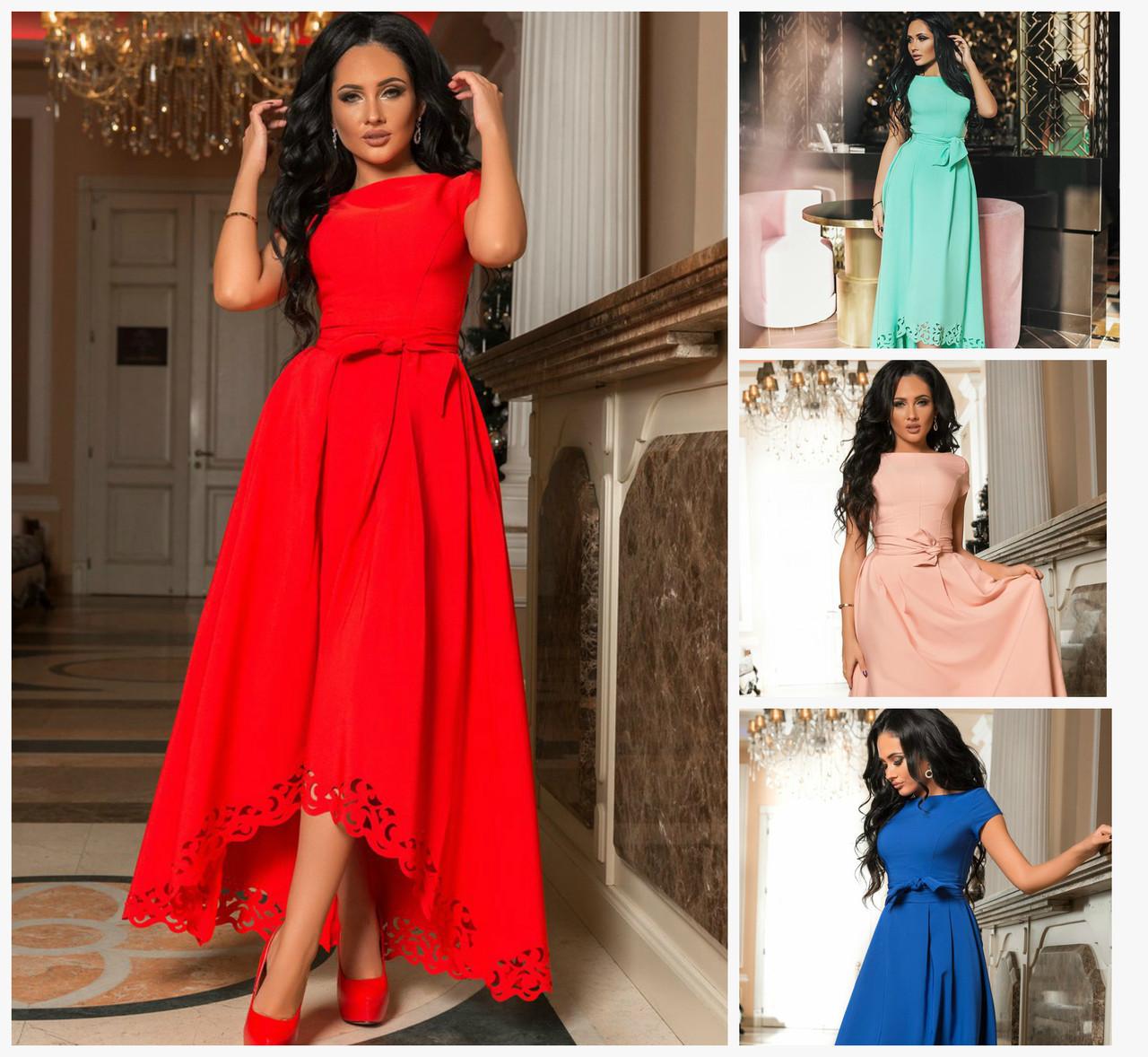 7b32a43bb2b Нарядное длинное платье 16038 - Интернет - магазин одежды Mixton в Одессе