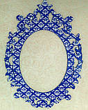 Ажурная рамка (Свадебная рамка. Свадебная монограмма), фото 3