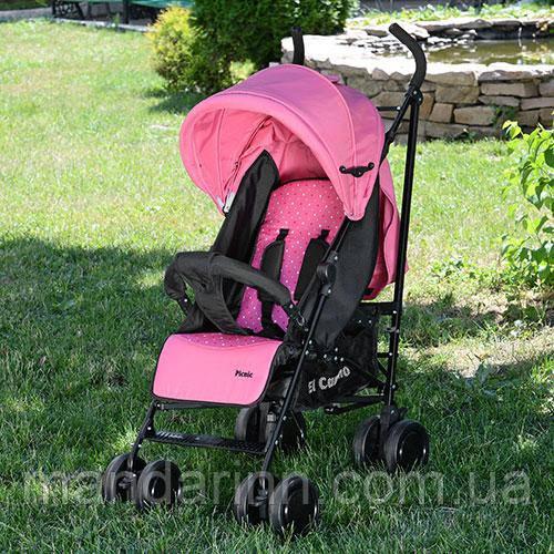 Прогулочная детская коляска-трость El Camino 3419-8 PICNIC