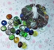 Камни для декора стеклянные, Эмма