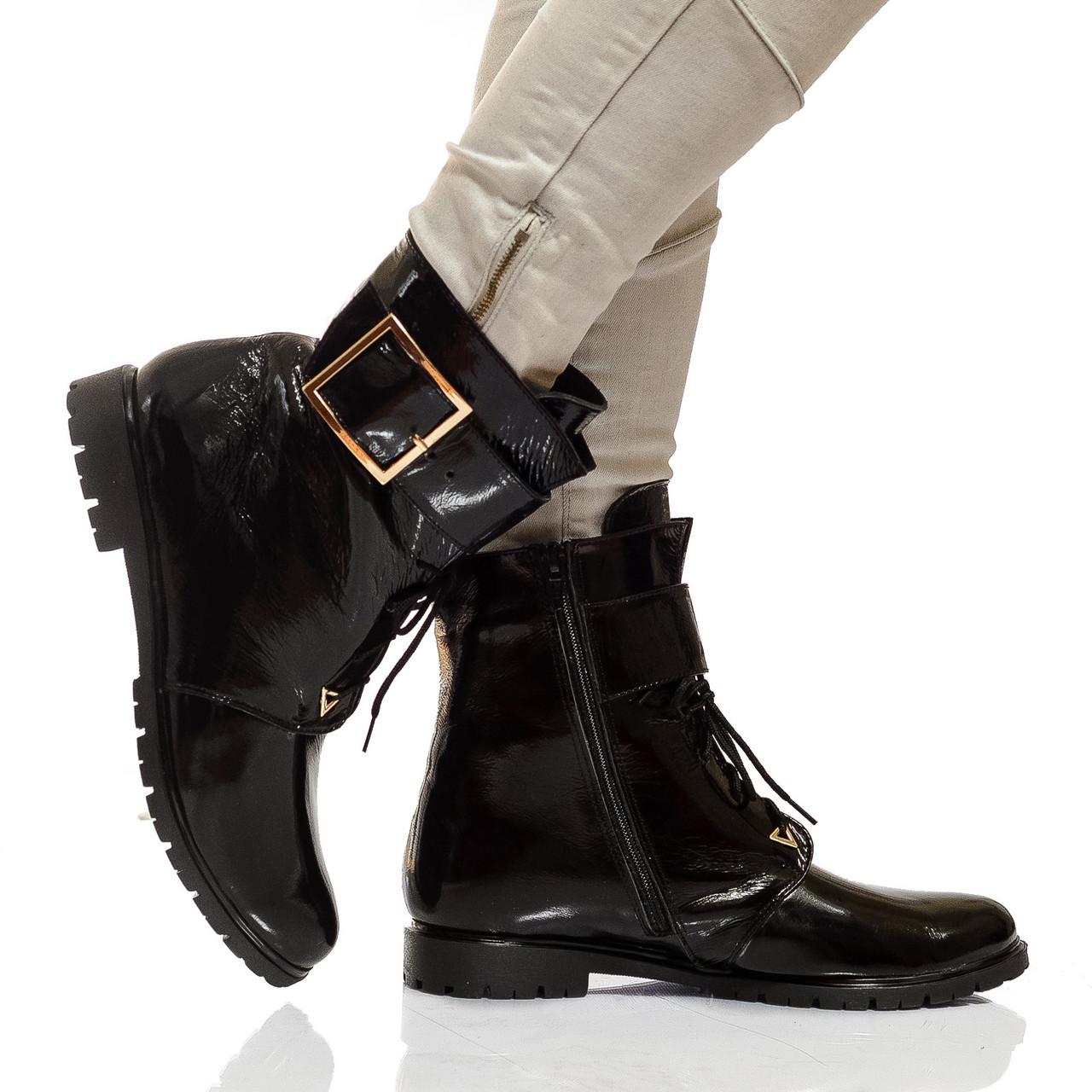 Сапоги-ботинк на низком каблуке, из натуральной кожи, замша на молнии. Пять цветов! Размеры 36-41 модель S2214