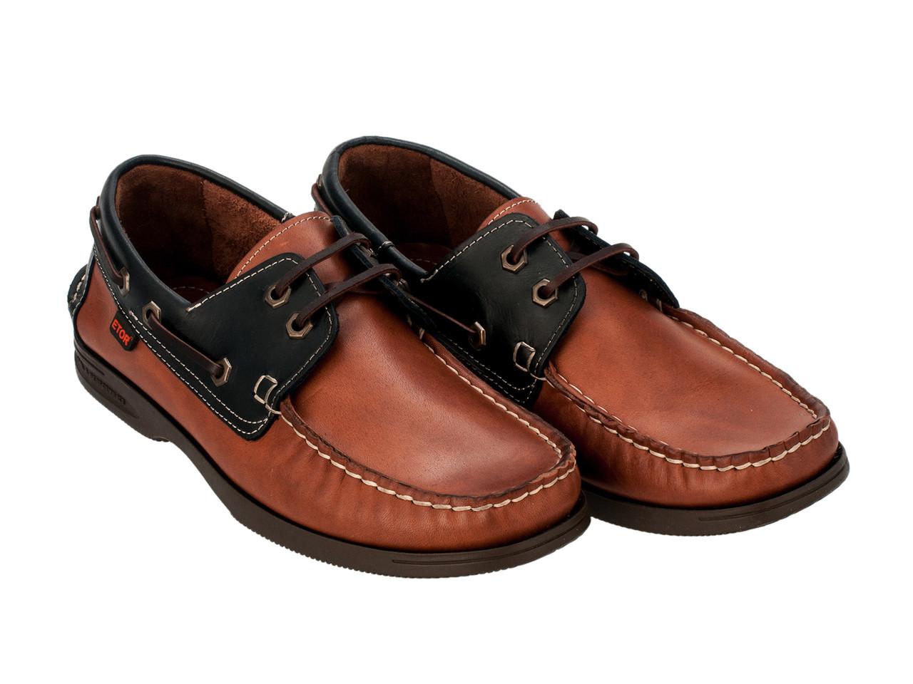 Топ-сайдеры Etor 8066-175-03 коричневые