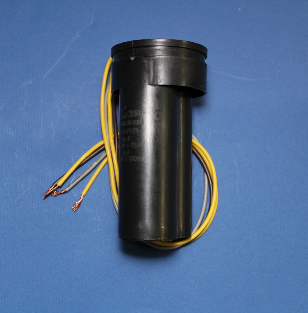 Конденсатор двойной СBB60 10+5 мкФ для стиральной машины Saturn