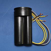 Конденсатор двойной СBB60 10+5 мкФ для стиральной машины Saturn, фото 2