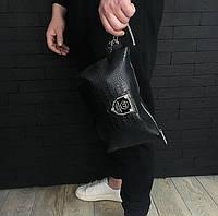 Сумка мужская брендовая Philipp Plein (барсетка, косметичка)