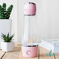 Генератор водородной воды Wellness Bottle Pink